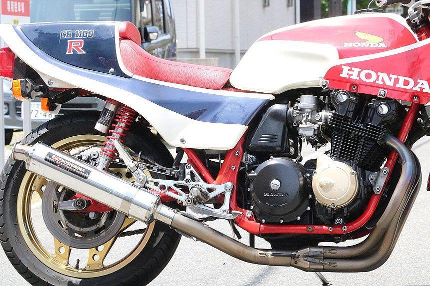 1982年/超希少車/CB1100RC/極上車/ウオタニSP2/ヨシムラサイクロン/フルチタンマフラー/オリジナルペイント/絶好調/ホイール製造年月日一致_フルチタン/ヨシムラサイクロン付きです。