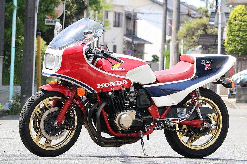 1982年/超希少車/CB1100RC/極上車/ウオタニSP2/ヨシムラサイクロン/フルチタンマフラー/オリジナルペイント/絶好調/ホイール製造年月日一致_エンジン絶好調/セル一発!250Km余裕です。