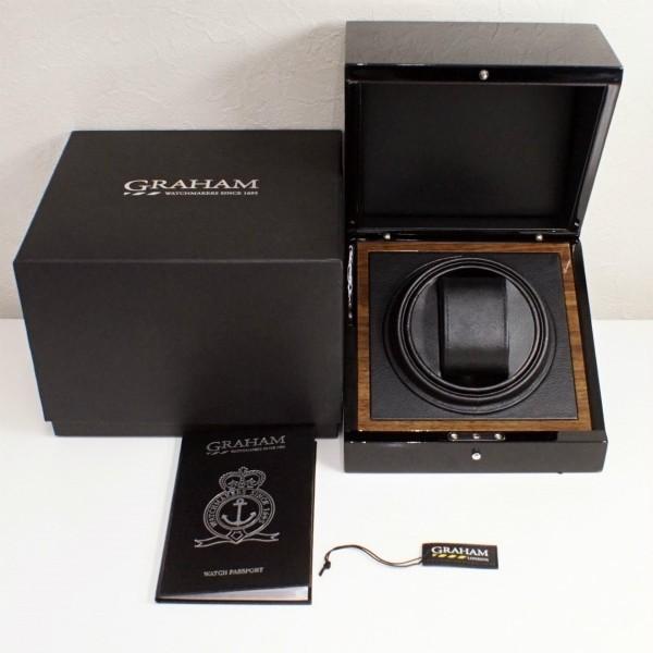 GRAHAM グラハム クロノファイター 1695 2CXAS メンズ 自動巻 中古美品_画像6