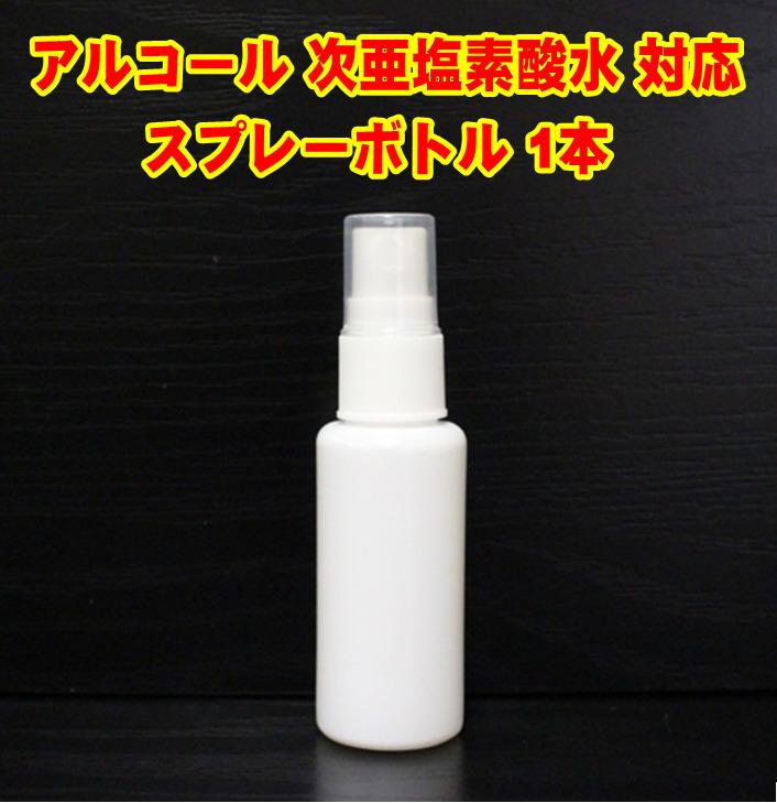 【新品・即決・応援価格】スプレー ボトル 30ml×1本 セット 容器詰め変え PE素材 消毒液 除菌 アルコール対応 持ち運びにも便利!
