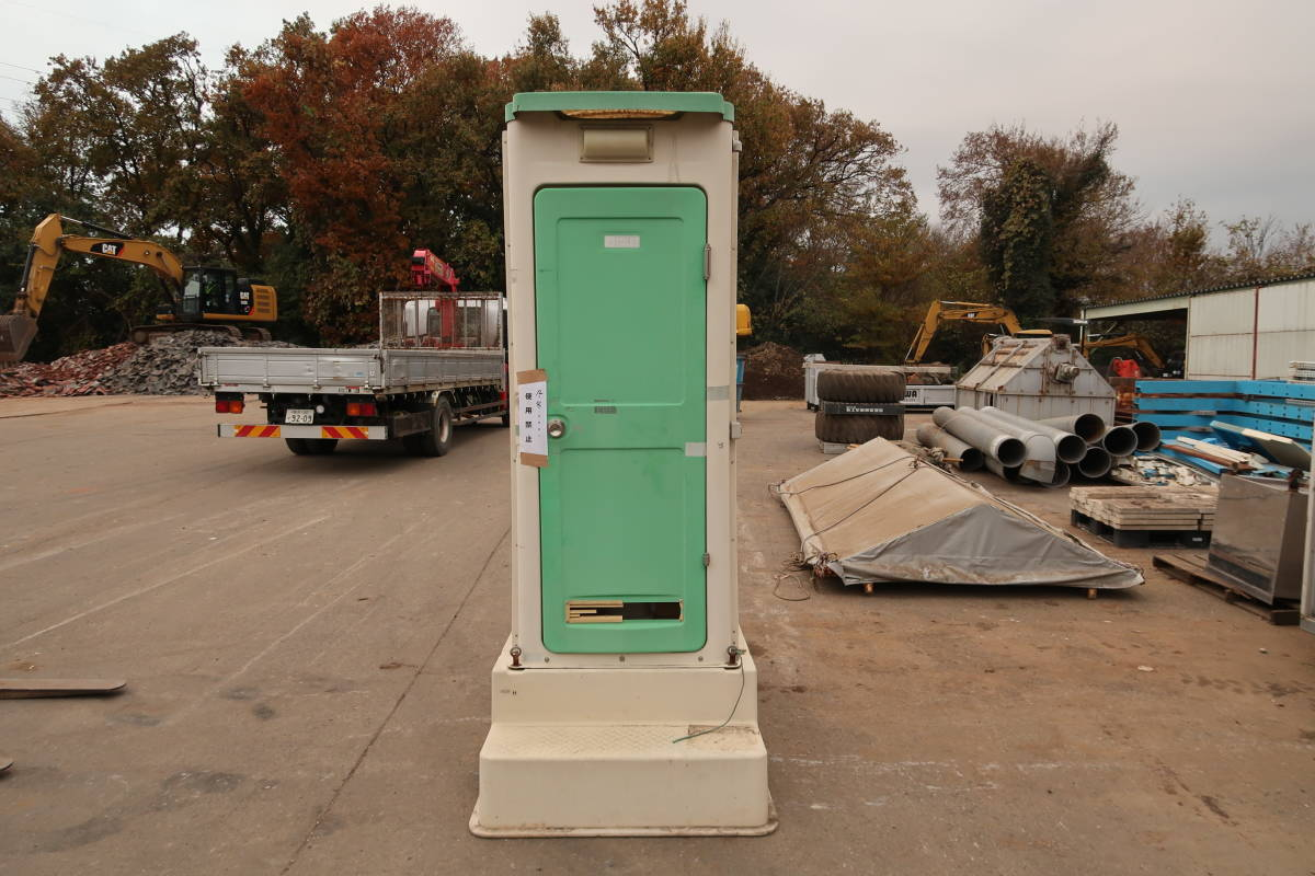 簡易トイレ 汲み取り式 中古 作業場 現場 引取限定_画像1