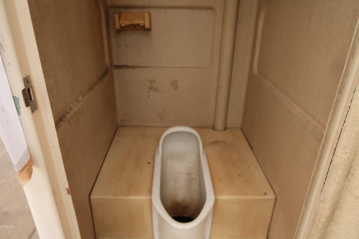 簡易トイレ 汲み取り式 中古 作業場 現場 引取限定_画像6