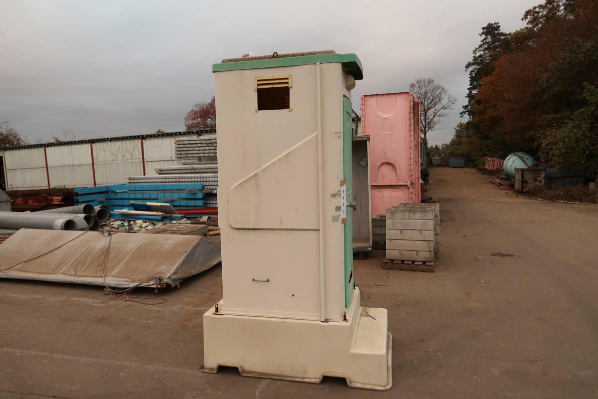 簡易トイレ 汲み取り式 中古 作業場 現場 引取限定_画像2