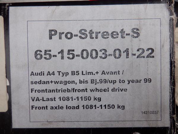 未使用 在庫有 Eibach アイバッハ Audi アウディ A4 アバント B5 8D2 ネジ式 車高調 プロストリートS 65-15-003-01-22 即納_画像8