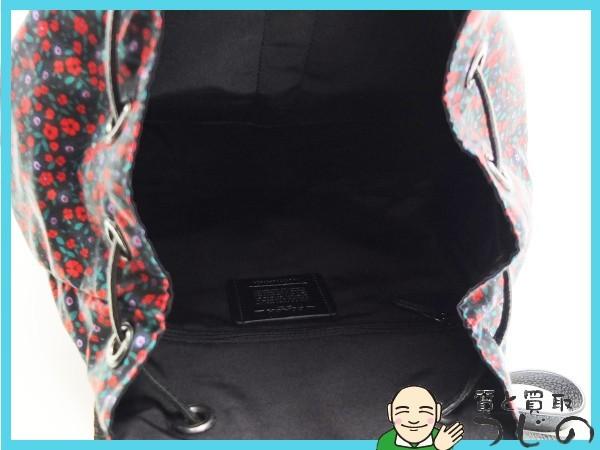 送料無料 コーチ リュック ランチフローラル F59434 COACH 美品 質屋 神戸つじの_画像4