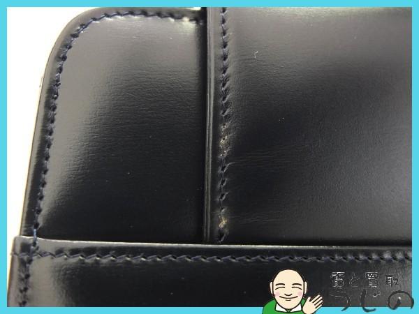 送料無料 カルティエ サファイアライン ハンドバッグ ネイビー Cartier 質屋 神戸つじの_画像8