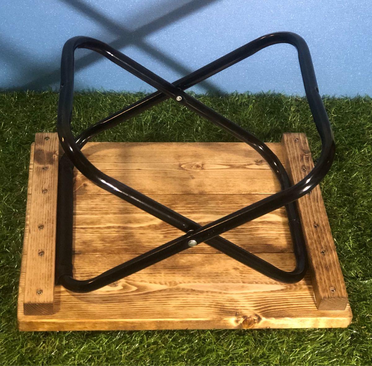 折りたたみテーブル(33cm×27cm) ハンドメイド