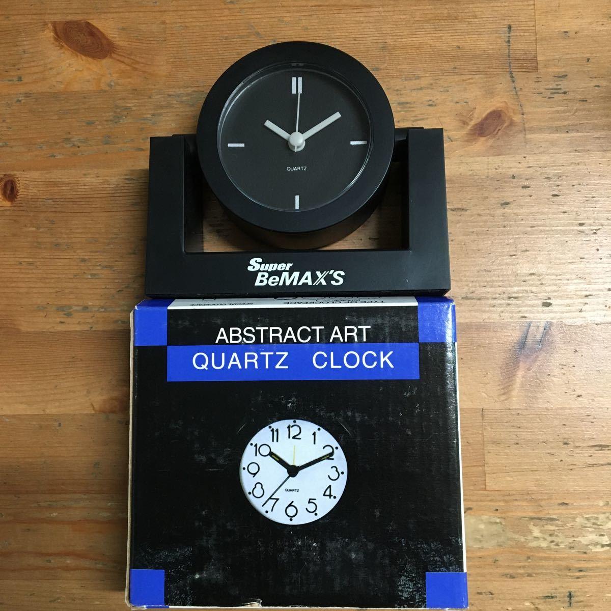 Super BeMAX'S ノベルティ 非売品 置時計 未使用品 デッドストック_画像1