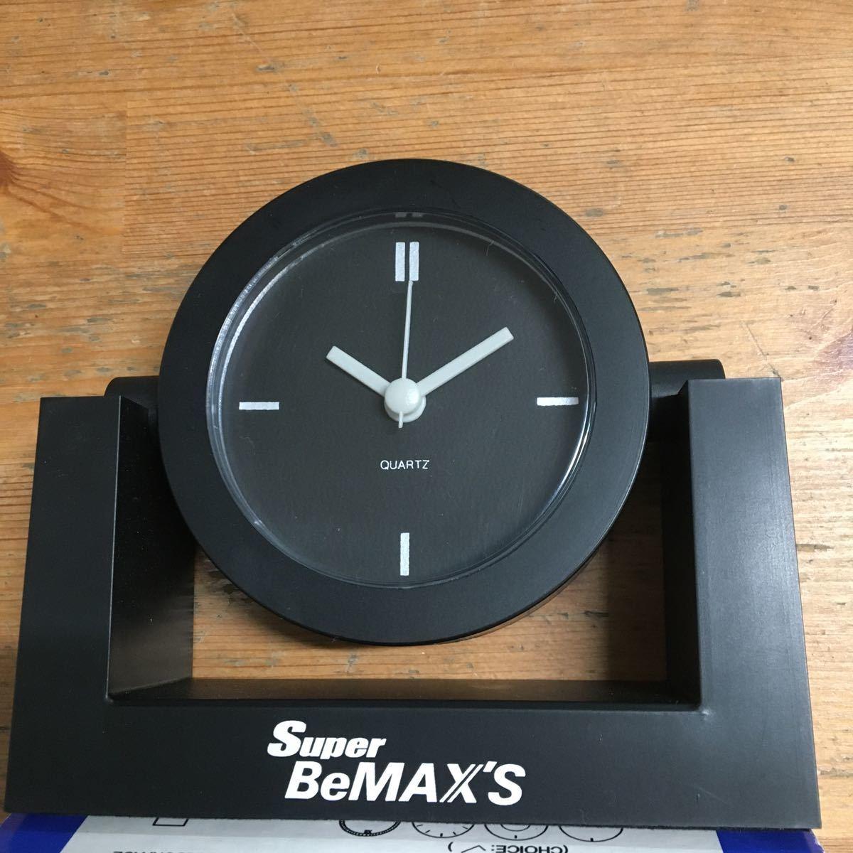 Super BeMAX'S ノベルティ 非売品 置時計 未使用品 デッドストック_画像2