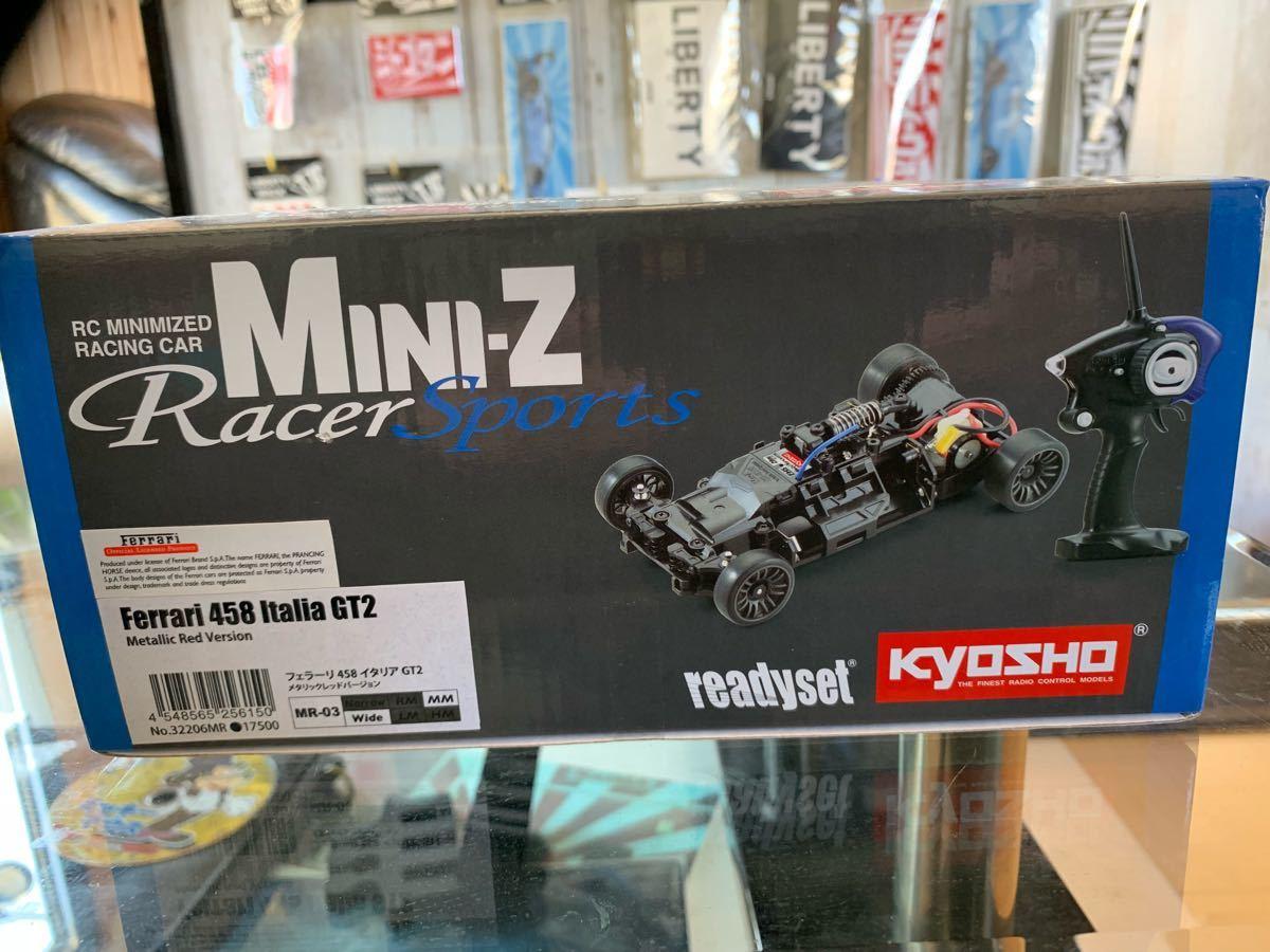 ミニッツ フェラーリ 488  MINI-Z 京商 KYOSHO