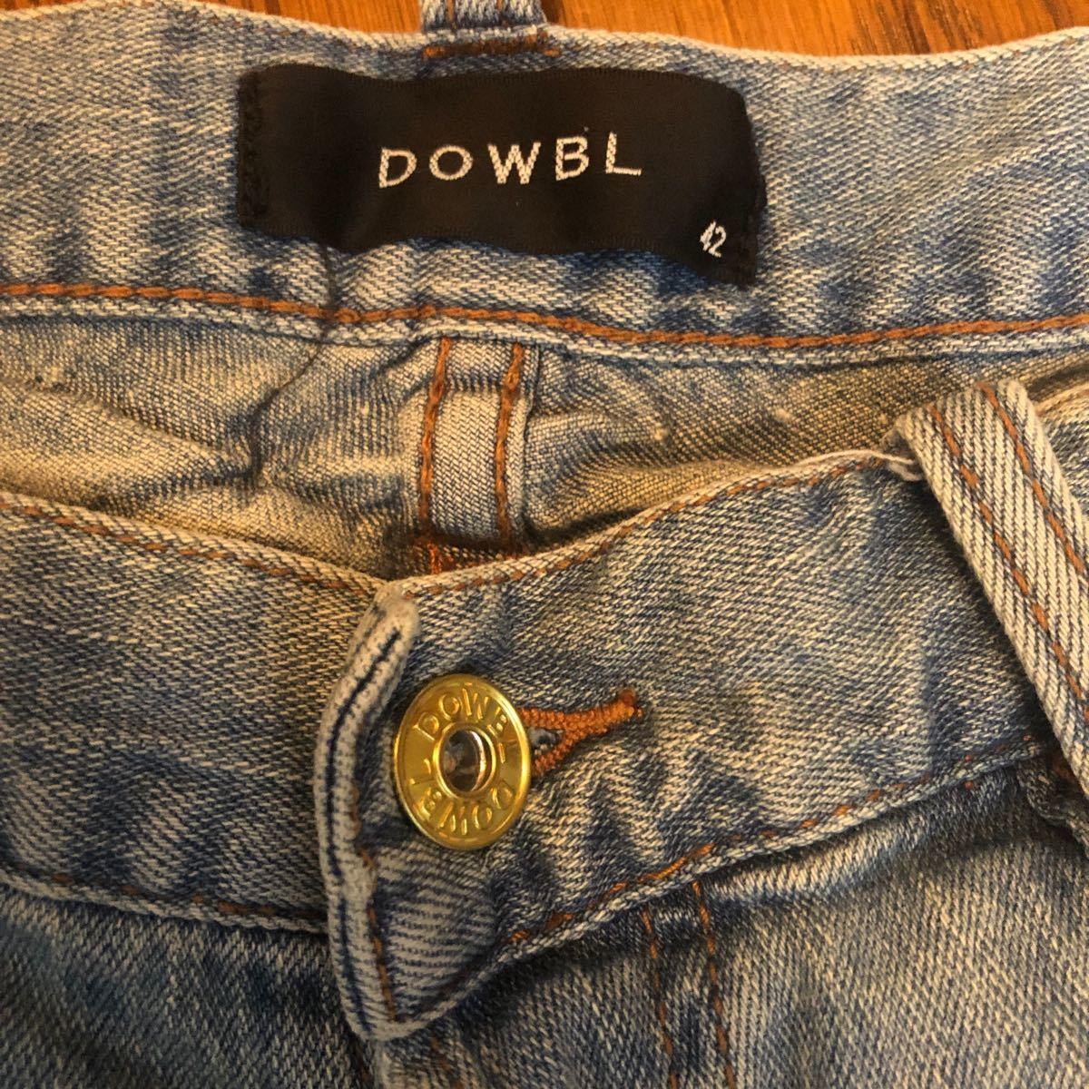 DOWBL ダブル デニム ジーンズ デニムパンツ ハーフパンツ メンズ109