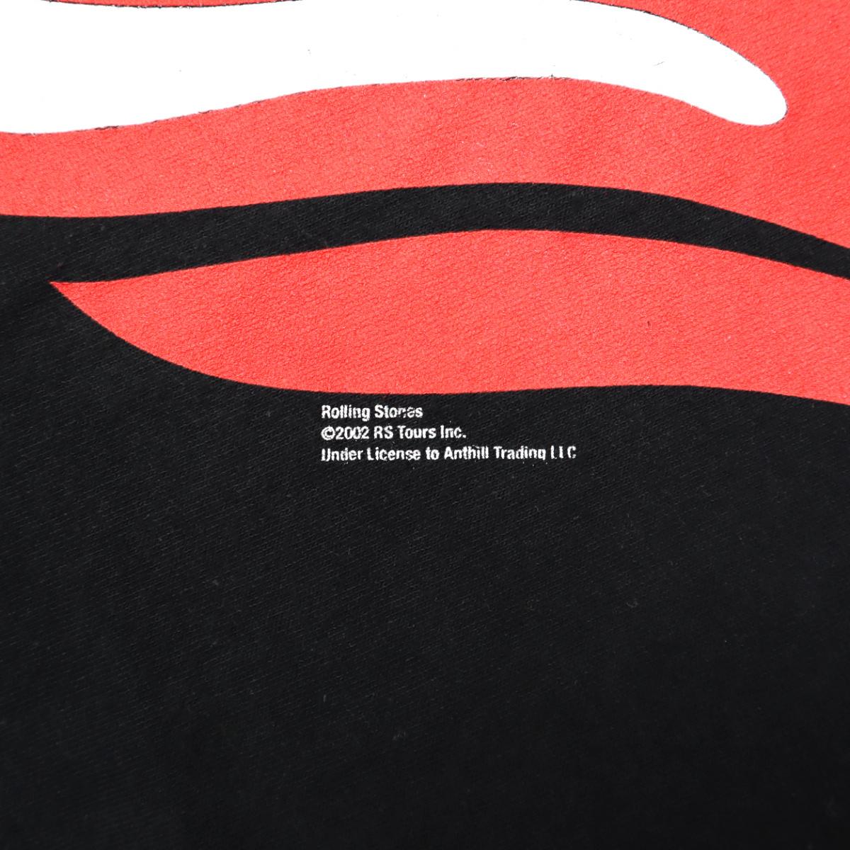 ☆送料無料☆ 00s ビンテージ ROLLING STONES ローリングストーンズ Tシャツ バンド ロック 古着 2002年 アメカジ メンズ L UK 音楽