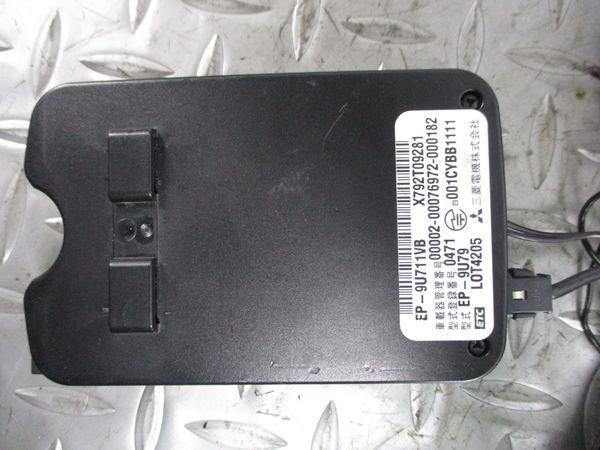 保証付 MITSUBISHI ミツビシ 三菱電機 ETC アンテナ分離型 EP-9U711VB EP-9U79 動作確認済み 即納_画像4