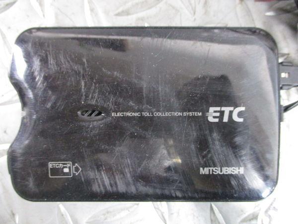保証付 MITSUBISHI ミツビシ 三菱電機 ETC アンテナ分離型 EP-9U711VB EP-9U79 動作確認済み 即納_画像2