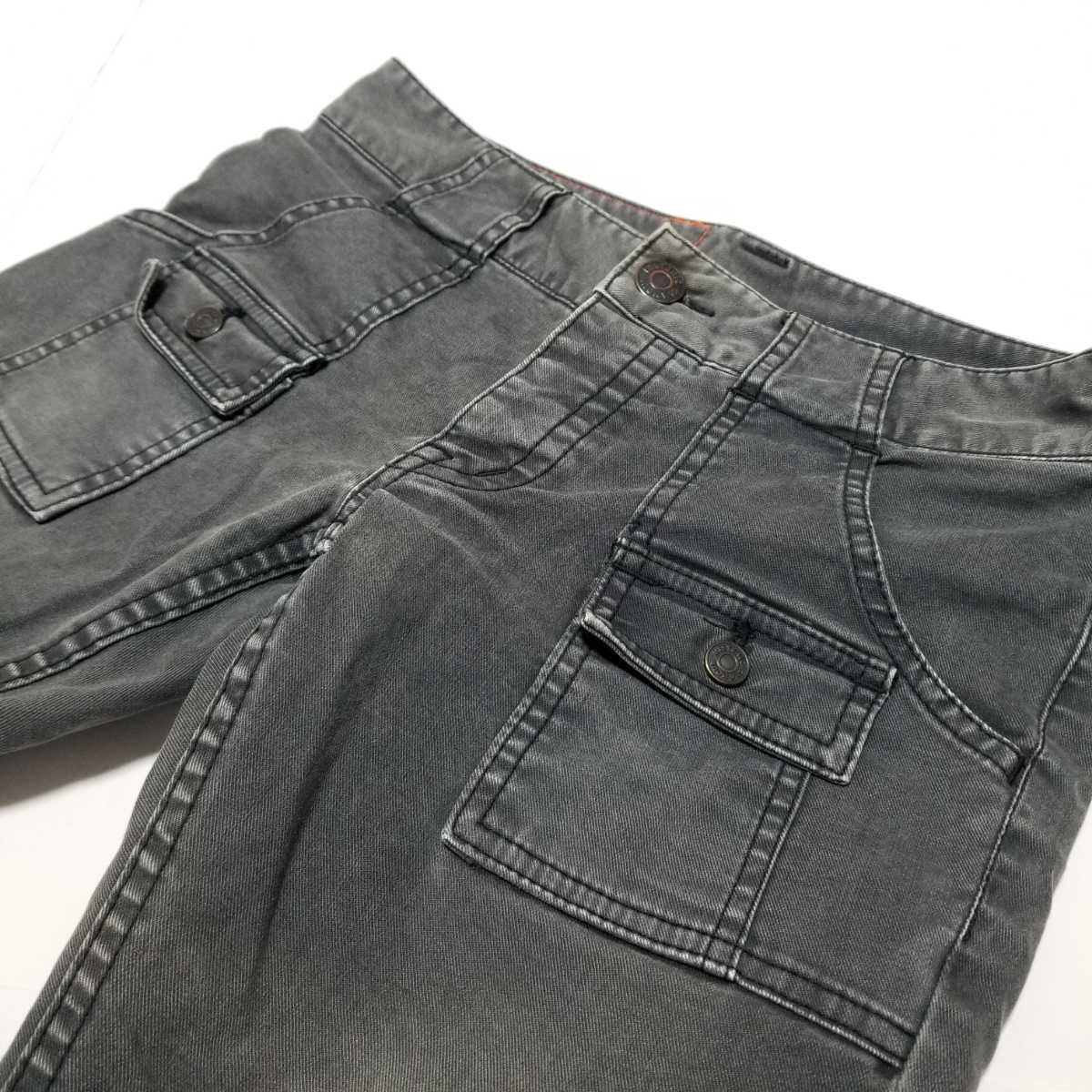 ヒステリックグラマー スキニーパンツ 黒 デニム サイズS