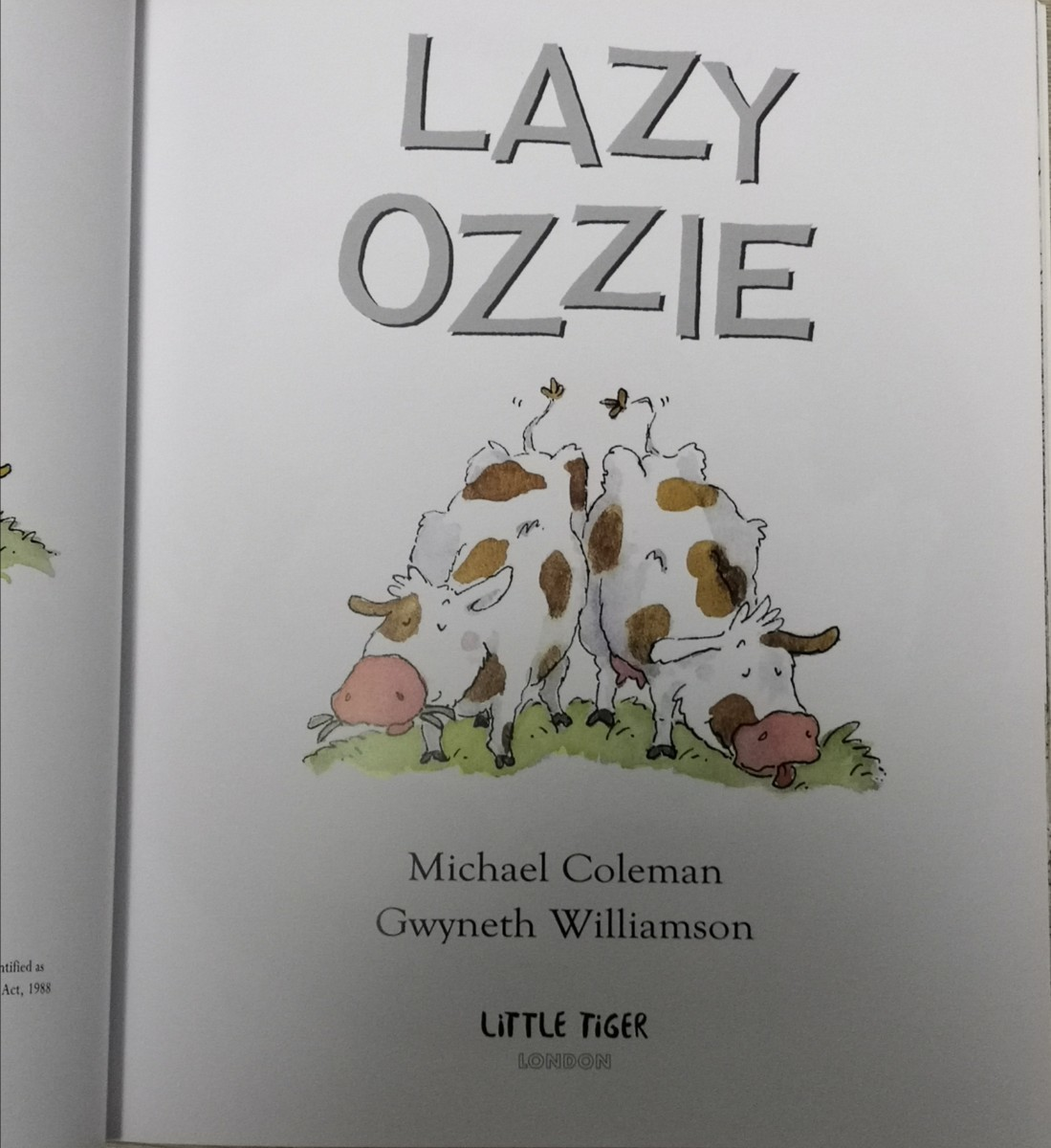 動物英語絵本 Lazy Ozzie