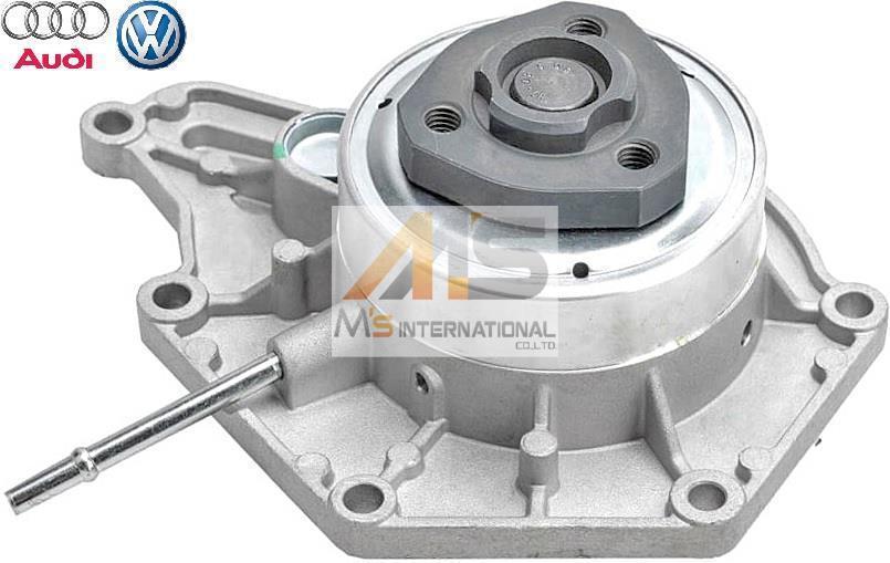 【M's】VW トゥアレグ Touareg (7P) 純正品 ウォーターポンプ//正規 フォルクスワーゲン 06E121018F 06E121016A 06E121016C 06E121016CX_画像1