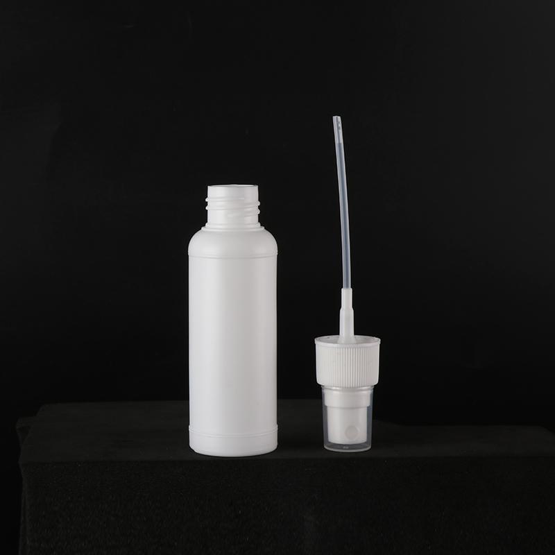 スプレーボトル 容器 50ml 100個セット 国内検品済 本体部分PPで アルコール対応 遮光 次亜塩素酸水にも使用可能 空容器 携帯用_画像4