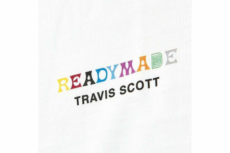 正規 本物 M コラボ READY MADE Travis Scott 3パック Tee バラ売り READYMADE レディメイド トラビス トラヴィス Tシャツ T-shirt _画像1