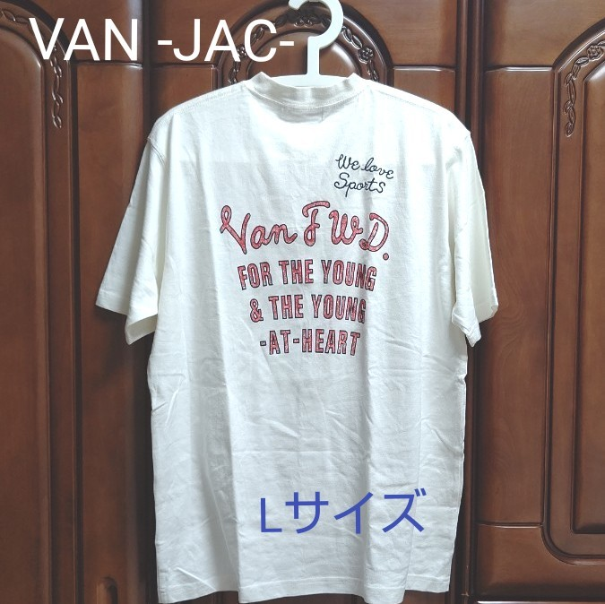 【レトロ】VAN ヴァン 半袖 Tシャツ Lサイズ 古着