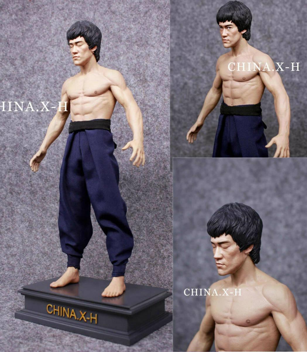 海外 限定 送料込み ブルース・リー CHINA.X-H Bruce Lee The Return of The Kung Fu Master Statue Figure Limited 750フィギュア _画像2