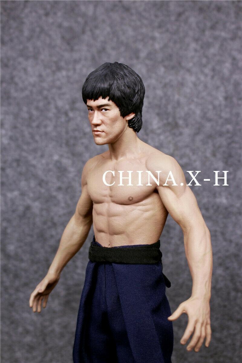 海外 限定 送料込み ブルース・リー CHINA.X-H Bruce Lee The Return of The Kung Fu Master Statue Figure Limited 750フィギュア _画像3