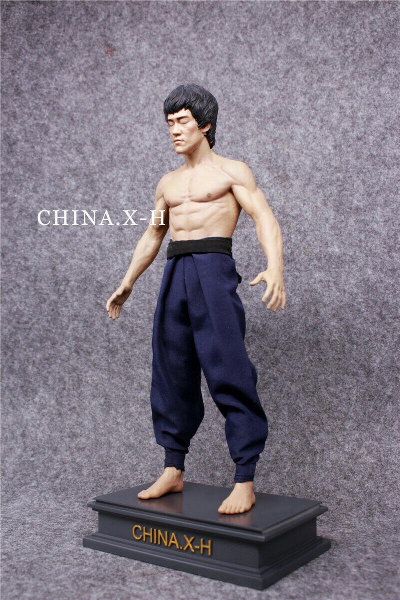海外 限定 送料込み ブルース・リー CHINA.X-H Bruce Lee The Return of The Kung Fu Master Statue Figure Limited 750フィギュア _画像1