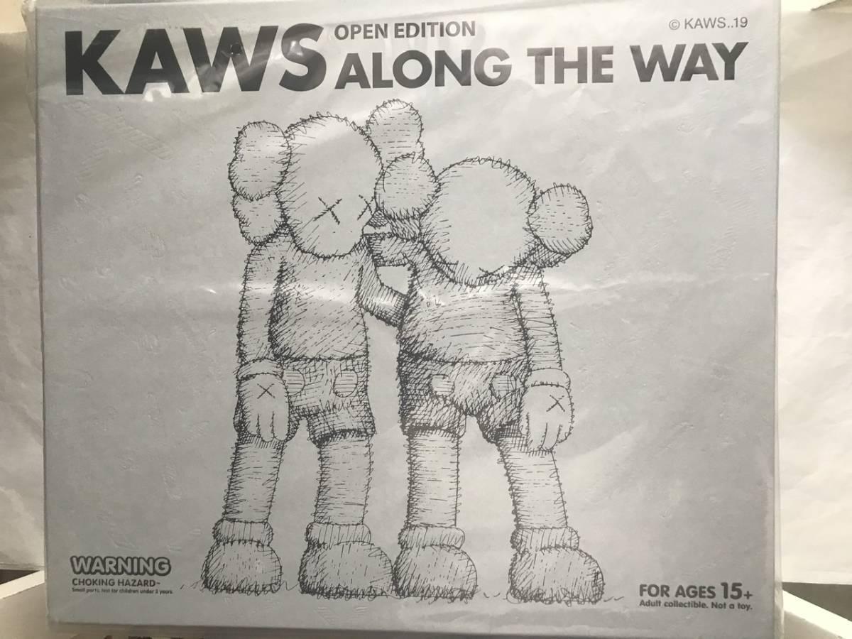 未開封 KAWS ALONG THE WAY GREY メディコムトイ_画像2