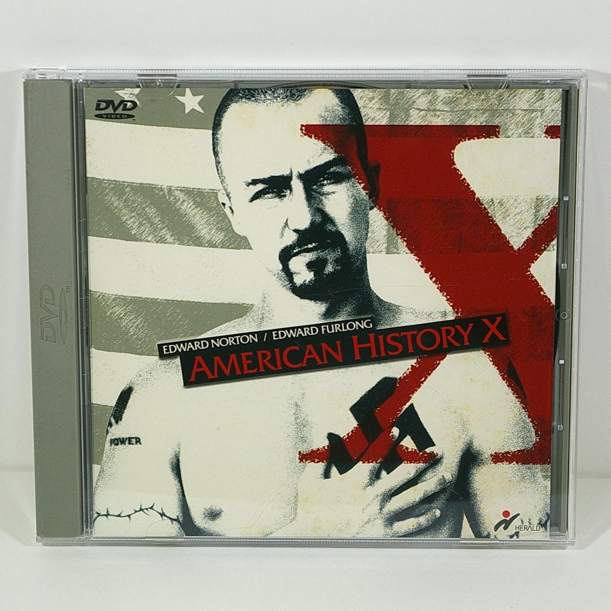 アメリカン・ヒストリー X(原題:American History X)[エドワード・ノートン/エドワード・ファーロング]<1998年/アメリカ>管理C_画像1