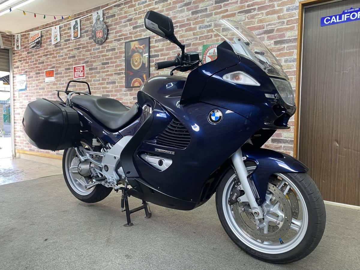 「【上質極上!屋内保管雨天未走行?超美車機関絶好調)BMW K1200GT 低走行【動画有】豪華ABS/電動スクリーン/シート・グリップヒーター装備」の画像1