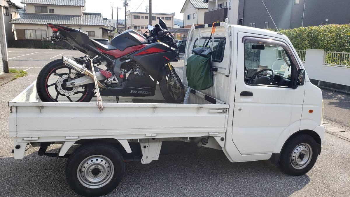「格安バイク陸送!ドアtoドア!西日本を中心に格安でバイクを運びます。個人売買、引っ越しにも!」の画像1