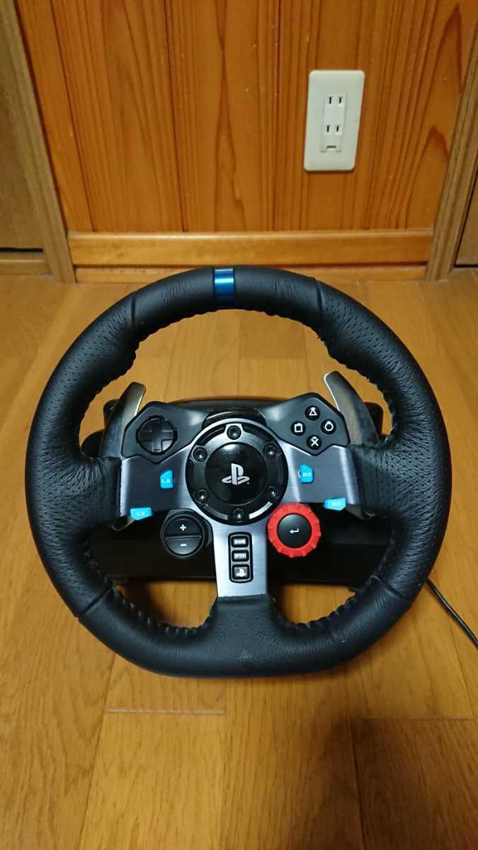 ロジクール Logicool ドライビングフォース G29 シフター付き PS3 PS4 ハンドルコントローラー GTSPORT_画像1