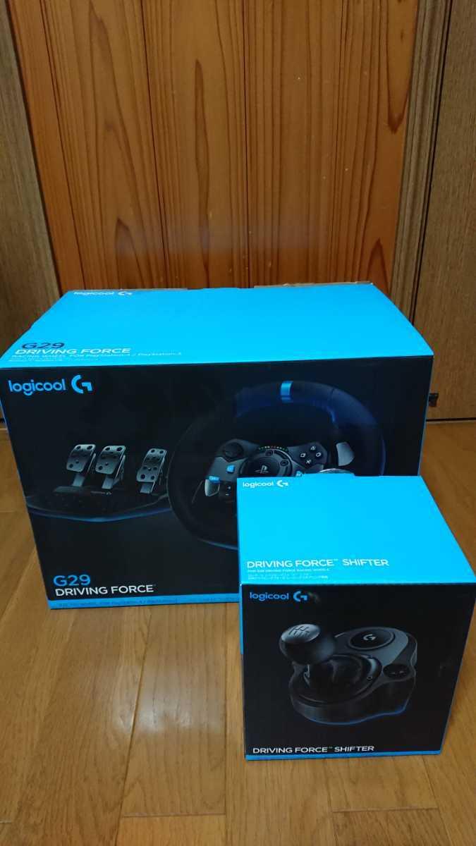 ロジクール Logicool ドライビングフォース G29 シフター付き PS3 PS4 ハンドルコントローラー GTSPORT_画像5