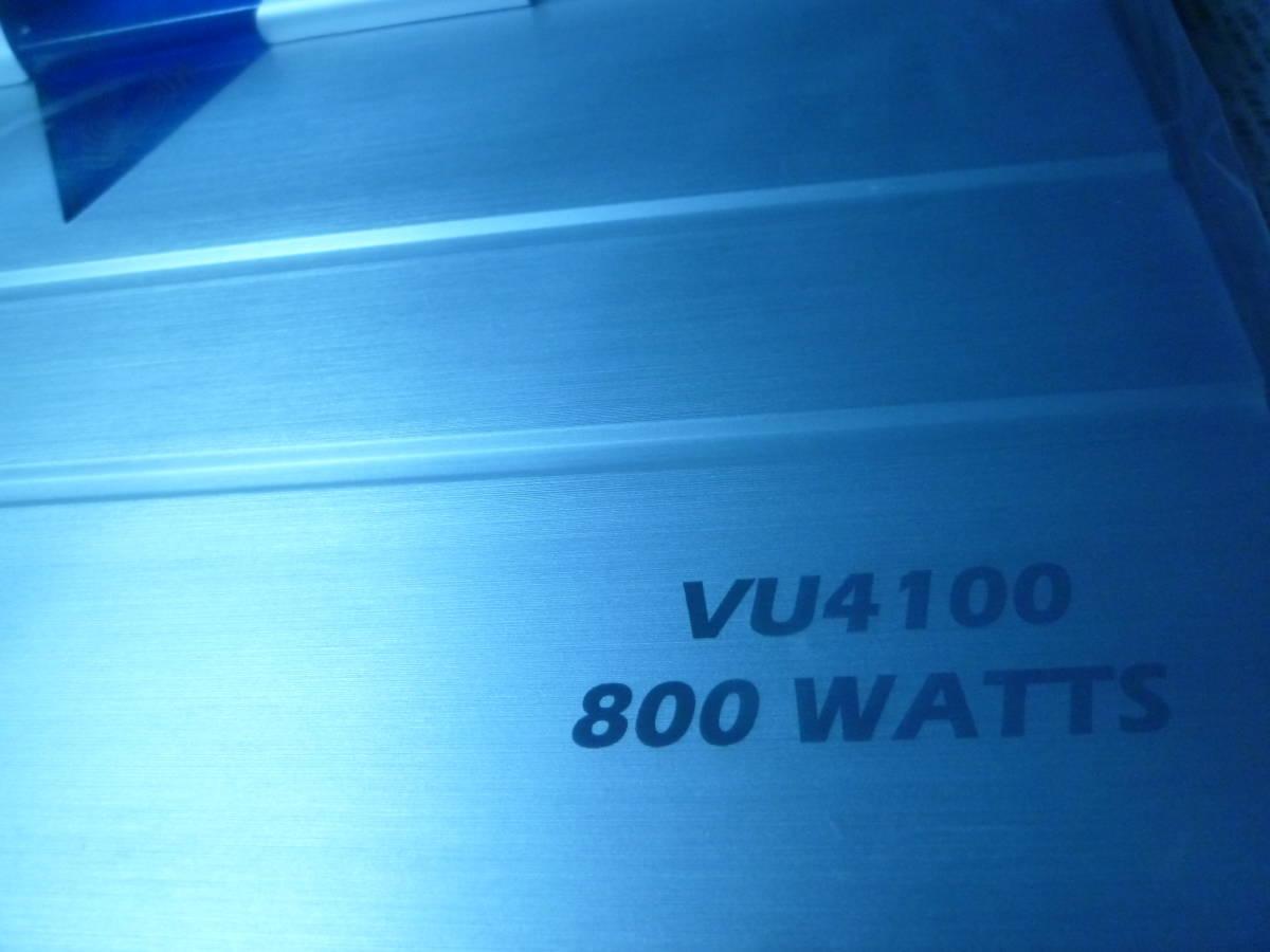 定価89千円 デジアンや中古に興味のない方にオススメ! 新品未使用品 CRUNCH USA クランチ 4/3/2chパワーアンプ 800W RCA1系統4ch可 保証有5_画像3