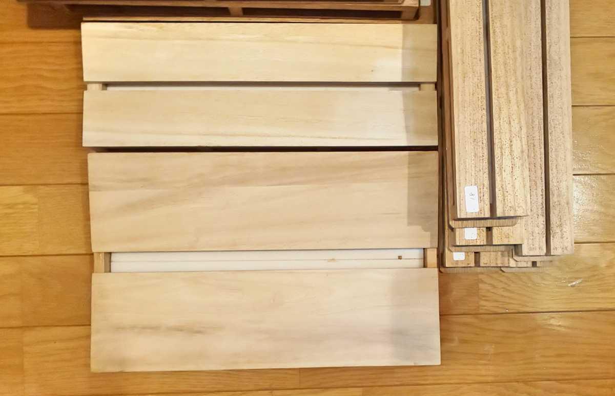 昆虫標本 展翅板 大量 傾斜展翅板 平型展翅板_画像1