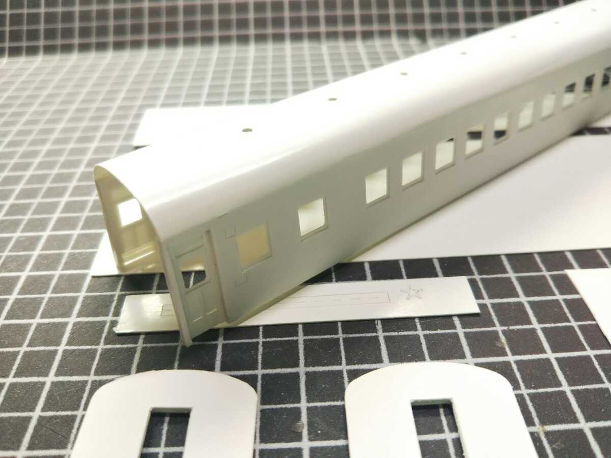 1/150 Nゲージ ペーパーボディキット半組立品(80%組立済) 国鉄客車スロ50 (床板無し)_画像4
