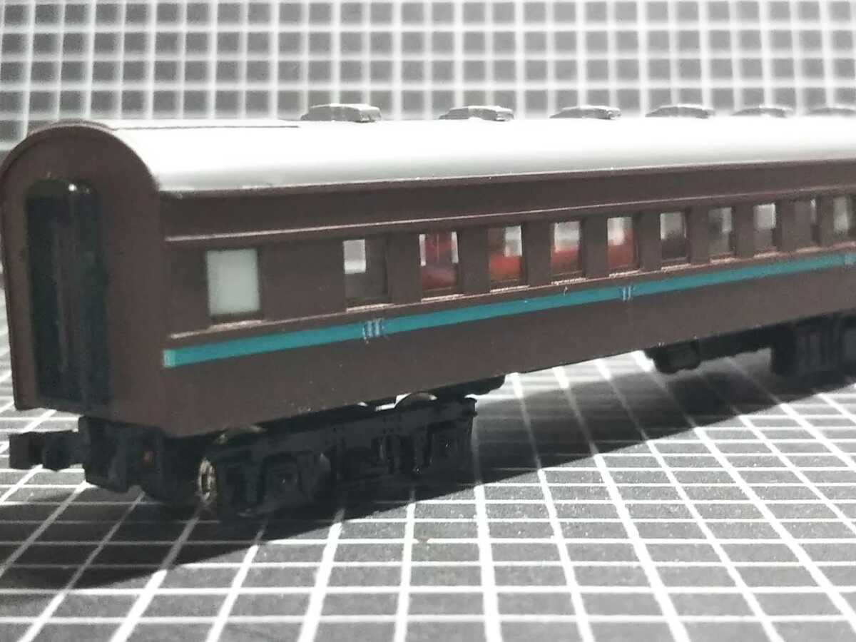 1/150 Nゲージ ペーパーボディキット半組立品(80%組立済) 国鉄客車スロ50 (床板無し)_画像10