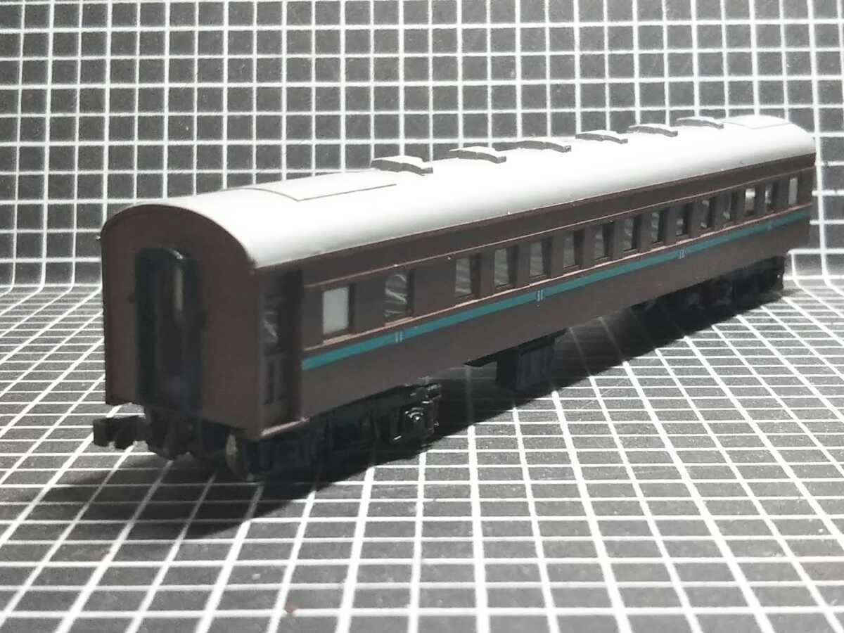 1/150 Nゲージ ペーパーボディキット半組立品(80%組立済) 国鉄客車スロ50 (床板無し)_画像7