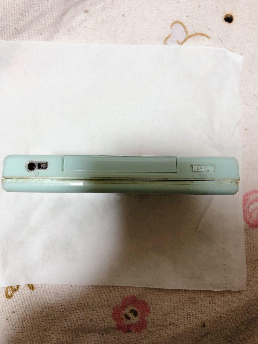 Nintendo ニンテンドーDS Lite 水色 本体のみ タッチペンなし