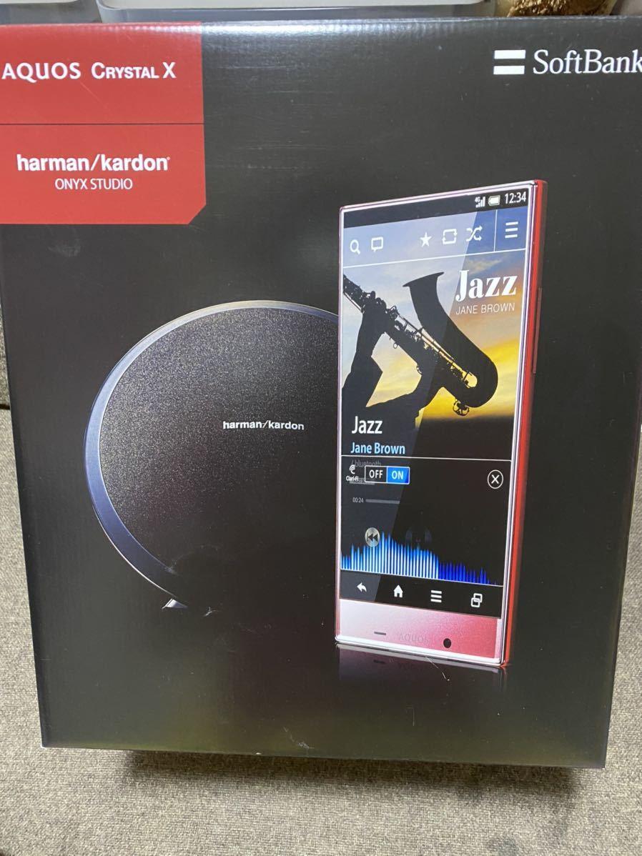 ハーマン カードン ONYX STUDIO ワイヤレス スピーカー Bluetooth ソフバンク AQUOS CRYSTAL X 新品 未開封 harman kardon_画像1
