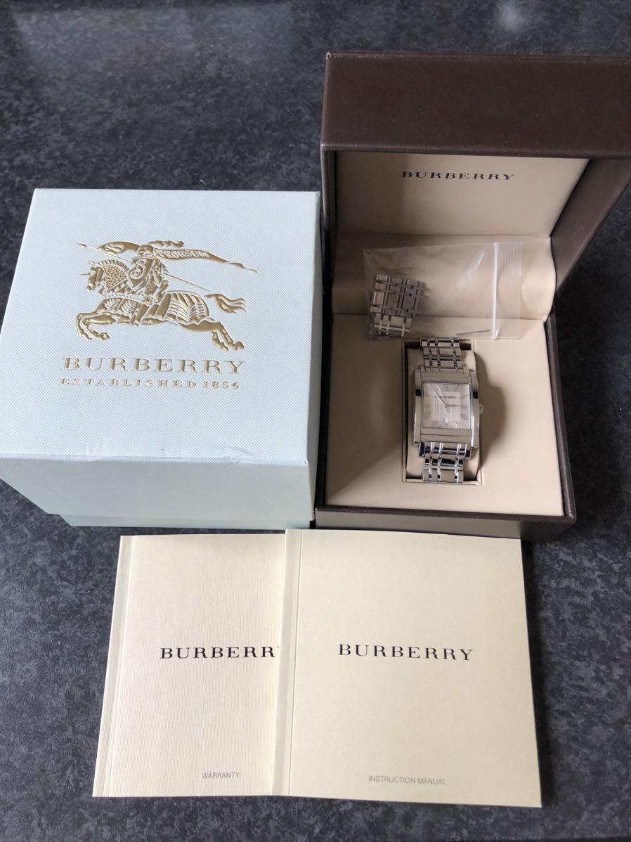BURBERRY バーバリー 腕時計 スクエア_画像1