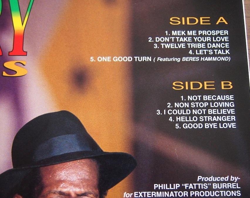 【LP】Gregory Isaacs / Mek Me Prosper_画像2