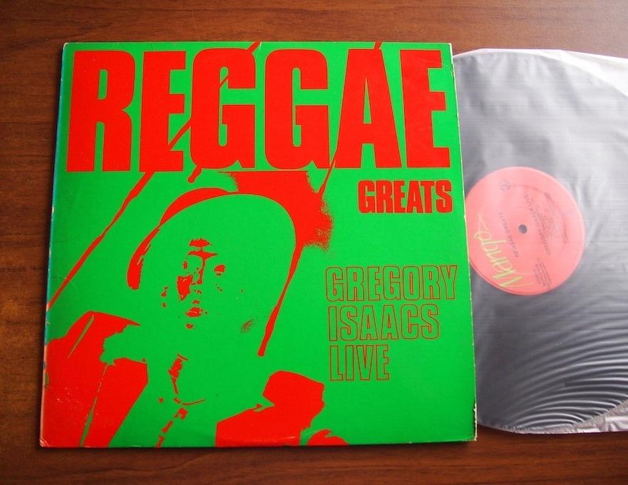 【LP】Gregory Isaacs / Reggae Greats / Gregory Isaacs Live_画像1