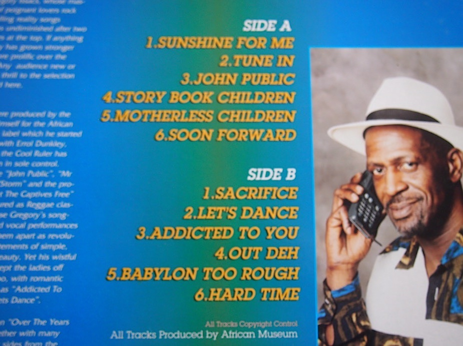【LP】Gregory Isaacs / Over The Years Vol 2_画像2