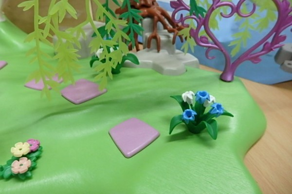 ♪176 プレイモービル 5444 Fairy Island  妖精 宝石の泉 ♪情景 パーツ ブロック_画像5