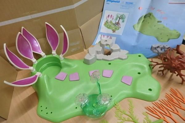 ♪176 プレイモービル 5444 Fairy Island  妖精 宝石の泉 ♪情景 パーツ ブロック_画像8