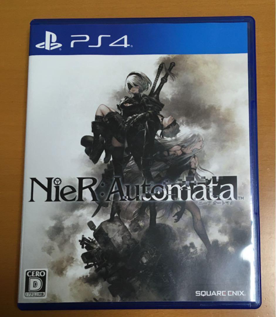 送料無料◆人類防衛新聞付 PS4 ニーア オートマタ NieR Automata NieR:Automata【動作確認済/匿名配送】