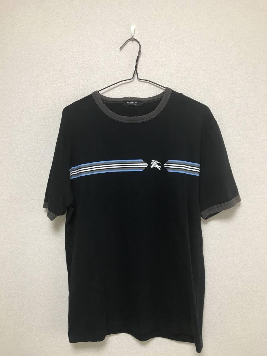バーバリーブラックレーベル Tシャツ クラッシュ 山陽商会正規店購入 サイズ 3