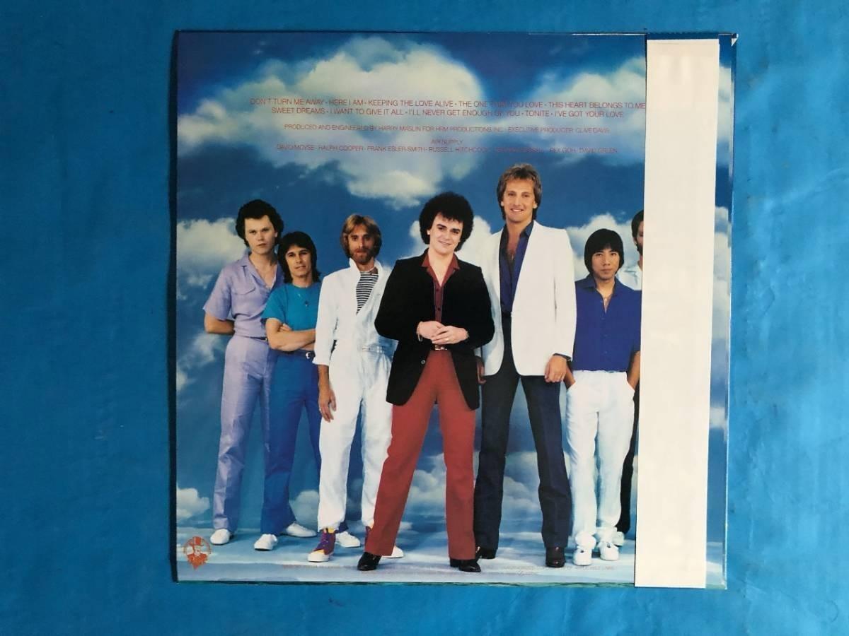 407 A0243 エア・サプライ Air Supply 1981年 LPレコード シーサイド・ラヴ One That You Love 中古美盤 国内版 帯付 AOR ②_画像2