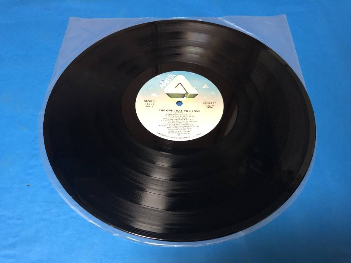 407 A0243 エア・サプライ Air Supply 1981年 LPレコード シーサイド・ラヴ One That You Love 中古美盤 国内版 帯付 AOR ②_画像6